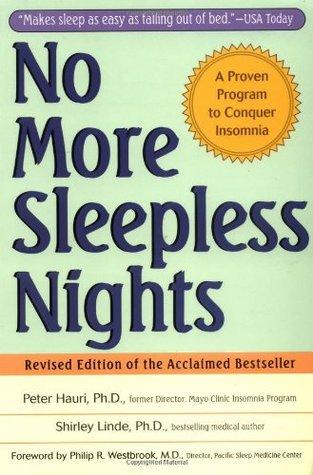 No More Sleepless Nights by Peter Hauri