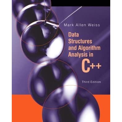 Data Structures And Algorithm Analysis In C++ Weiss Pdf