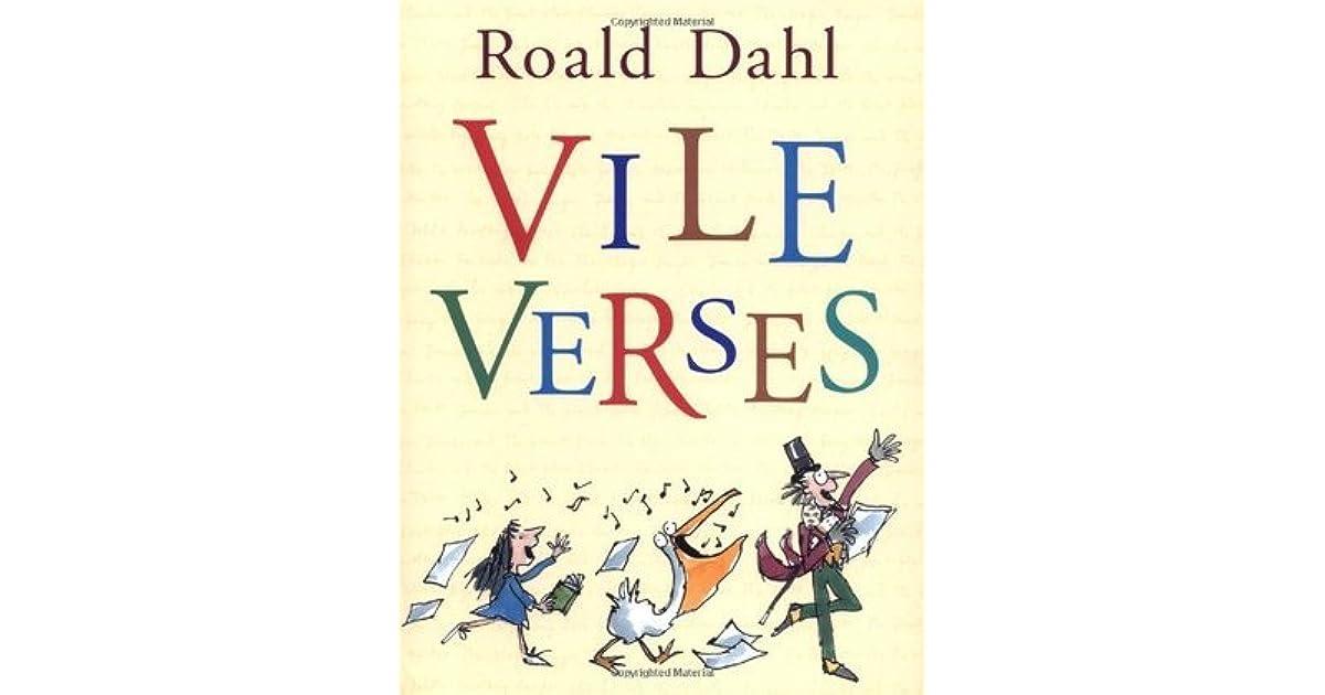 Vile Verses By Roald Dahl