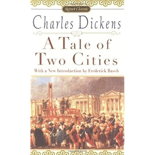 an analysis of the spiritual allusion in a tale of two cities a novel by charles dickens