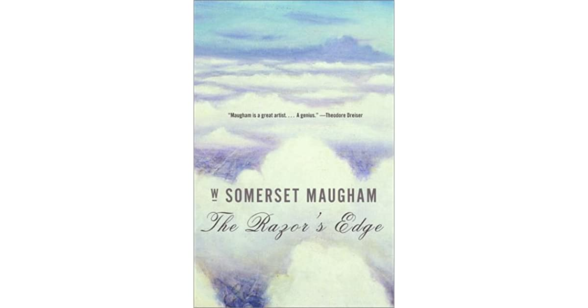 c1f889d6ac9f4 The Razor s Edge by W. Somerset Maugham