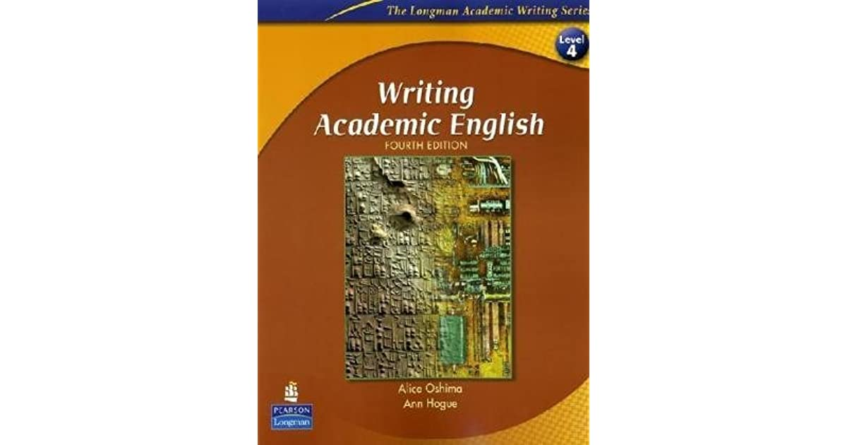 Writing academic english by alice oshima fandeluxe Image collections