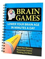 Brain Games #1: Lower Your Brain Age in Minutes a Day (Brain Games)