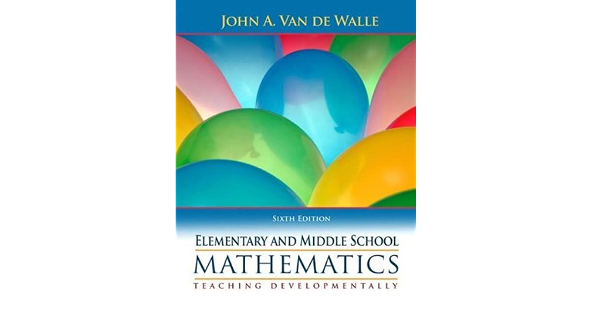 Elementary and middle school mathematics teaching developmentally elementary and middle school mathematics teaching developmentally by john a van de walle fandeluxe Image collections