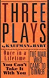 Three Plays by George S. Kaufman