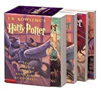 Harry Potter Boxed Set (Harry Potter, #1-4)
