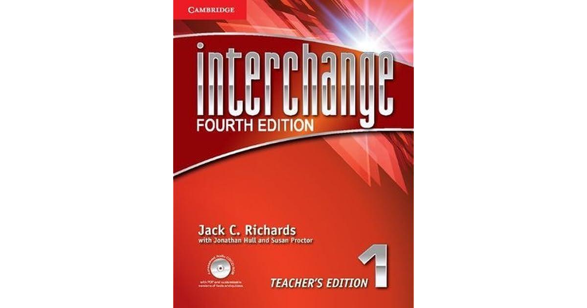 Interchange level 1 teachers edition with assessment audio cdcd interchange level 1 teachers edition with assessment audio cdcd rom by jack c richards fandeluxe Gallery