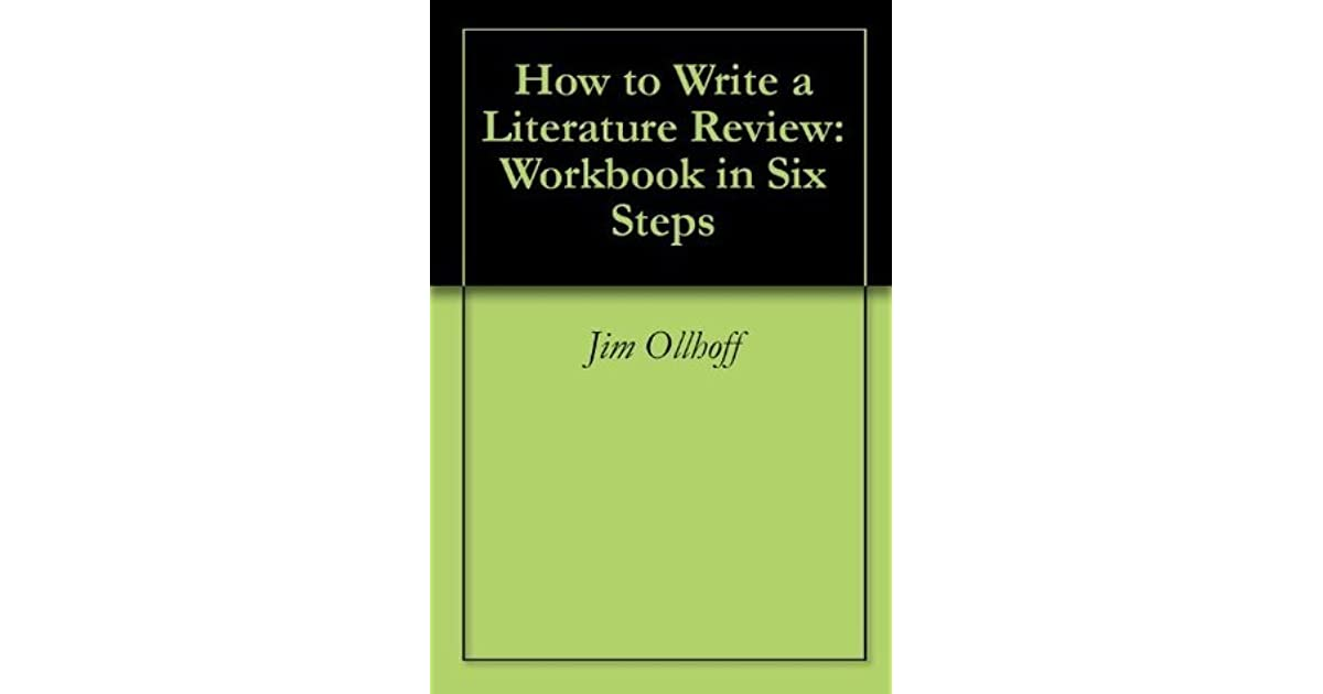 steps in doing literature review Literature reviews are also an ideal first step into the world of publishing  from  the review are decided before conducting the literature search and should all.