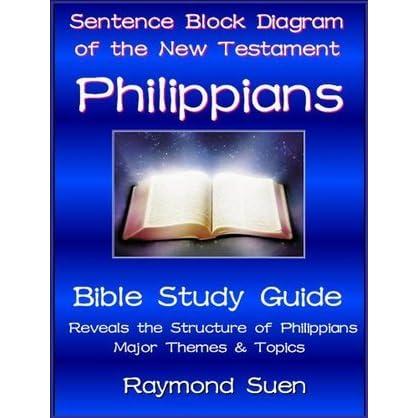 philippians sentence block diagram method of the new testament rh goodreads com Diagram of the Bible Books Bible Structure Diagram