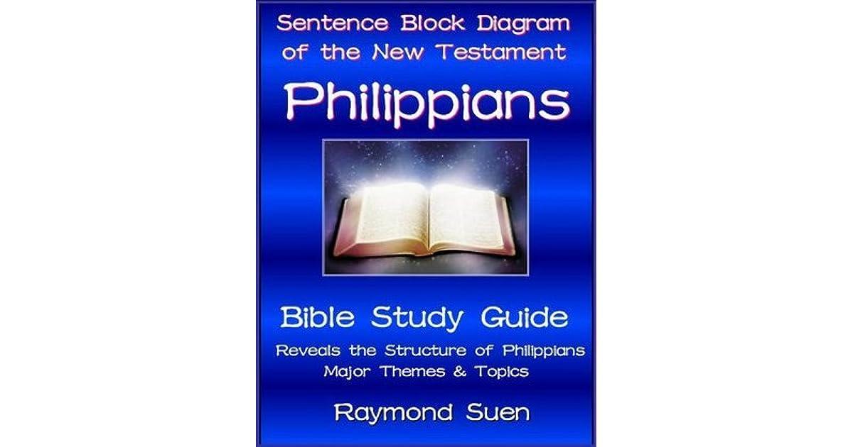 block diagram bible study philippians - sentence block diagram method of the new testament holy bible by raymond suen #14