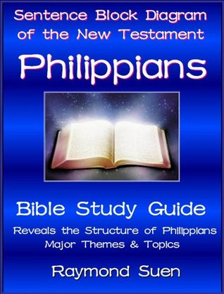 Philippians Sentence Block Diagram Method Of The New Testament Holy Bible By Raymond Suen