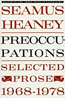 Preoccupations: Selected Prose, 1968-1978