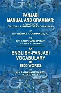 Panjabi Manual and Grammar + An English-Panjabi Vocabulary of 5800 Words