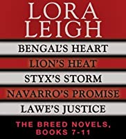 The Breeds Novels 7-11 (Breeds #14, #15, #16, #17, #18)