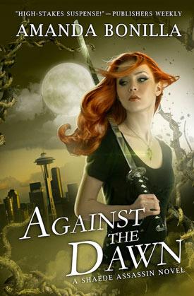 Against the Dawn by Amanda Bonilla