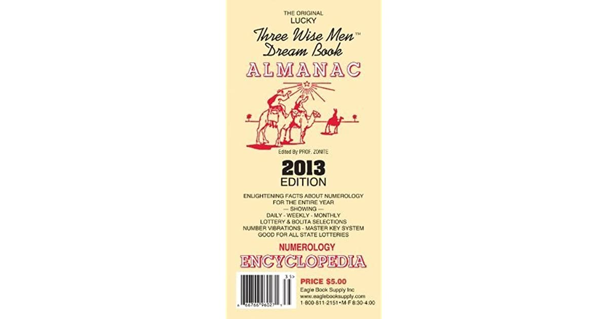 2014 The Original Lucky Three Wise Men Dream Book Almanac by Eagle