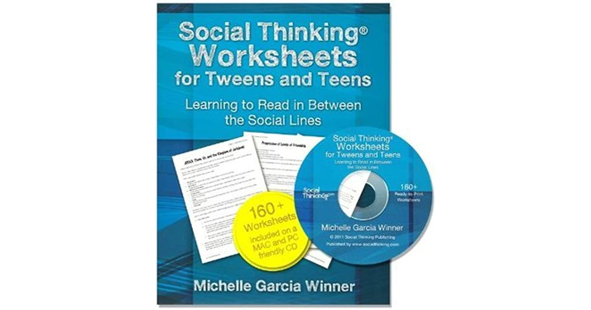 Social Thinking Worksheets for Teens and Tweens by Michelle Garcia ...