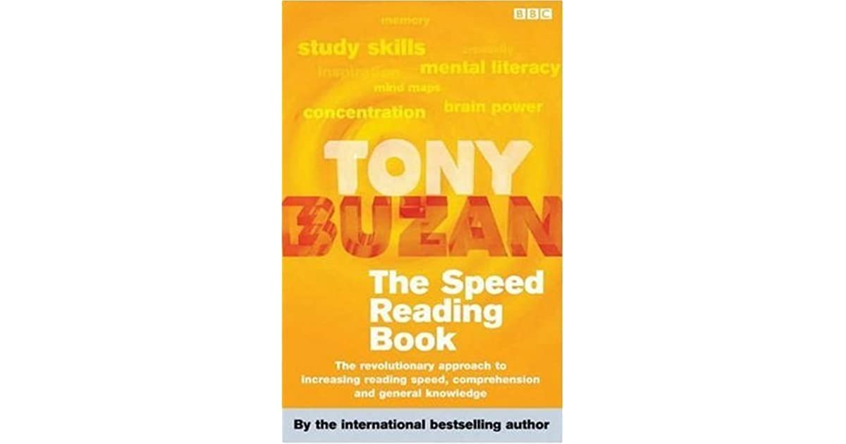 The Speed Reading Book by Tony Buzan