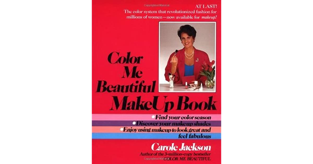 color me beautiful make up book by carole jackson - Color Me Beautiful Book