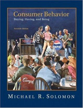 Consumer Behavior by Michael R. Solomon