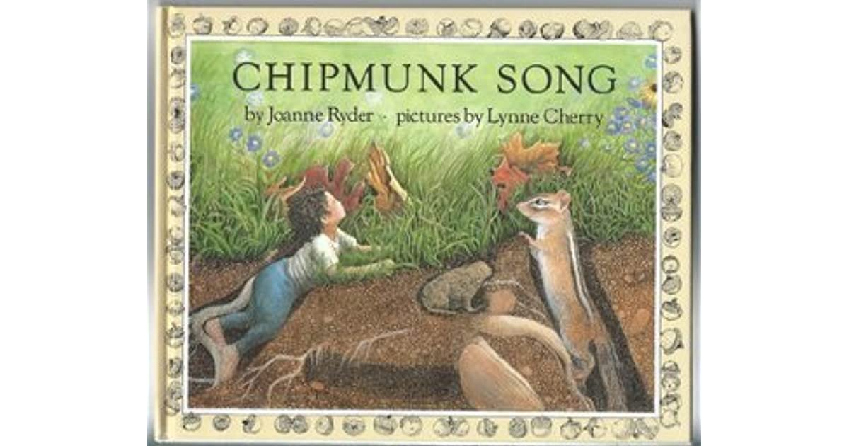 Chipmunk song by joanne ryder sciox Images