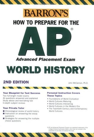Barron's How to Prepare for the AP World History Advanced