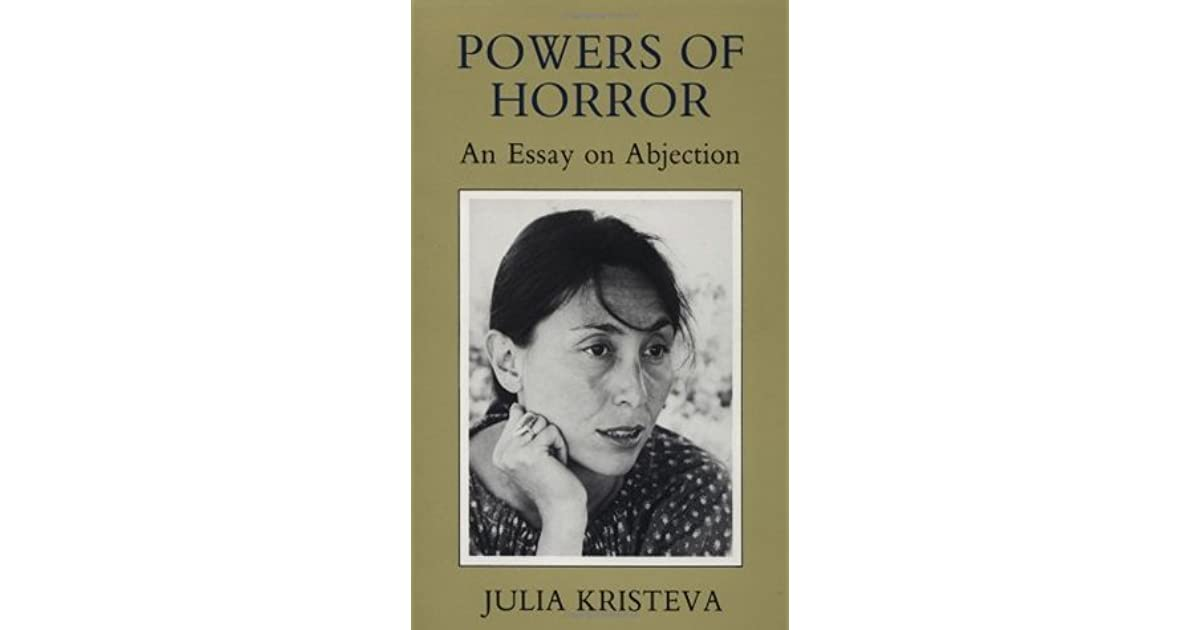 powers of horror an essay in abjection