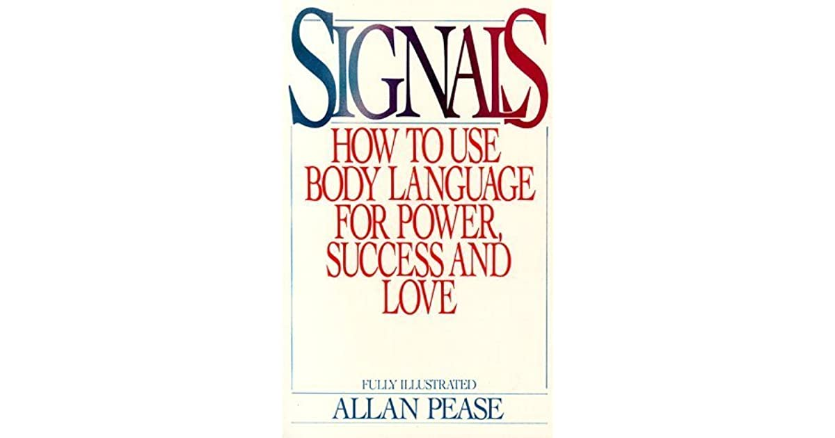 signals how to use body language for power success and