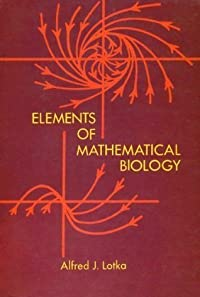 Elements of Mathematical Biology