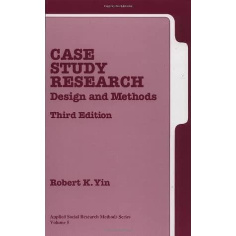 Case study book by yin
