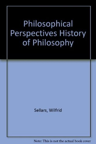 Philosophical Perspectives History of Philosophy