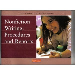 Nonfiction Writing: Procedures and Reports