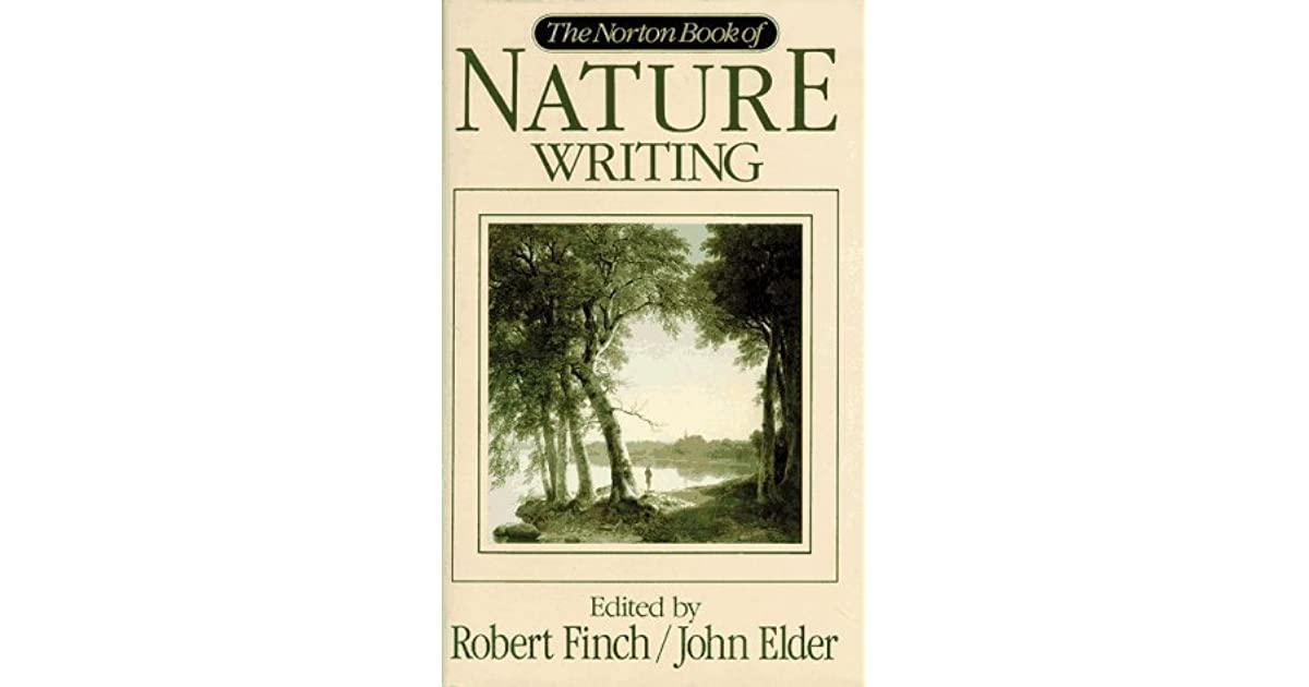 norton book of nature writing
