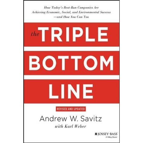the triple bottom line how today s best run companies are achieving