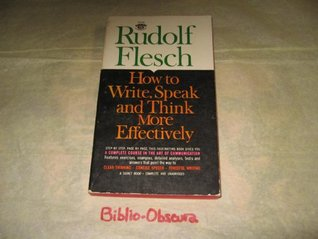 how to write speak and think more effectively download