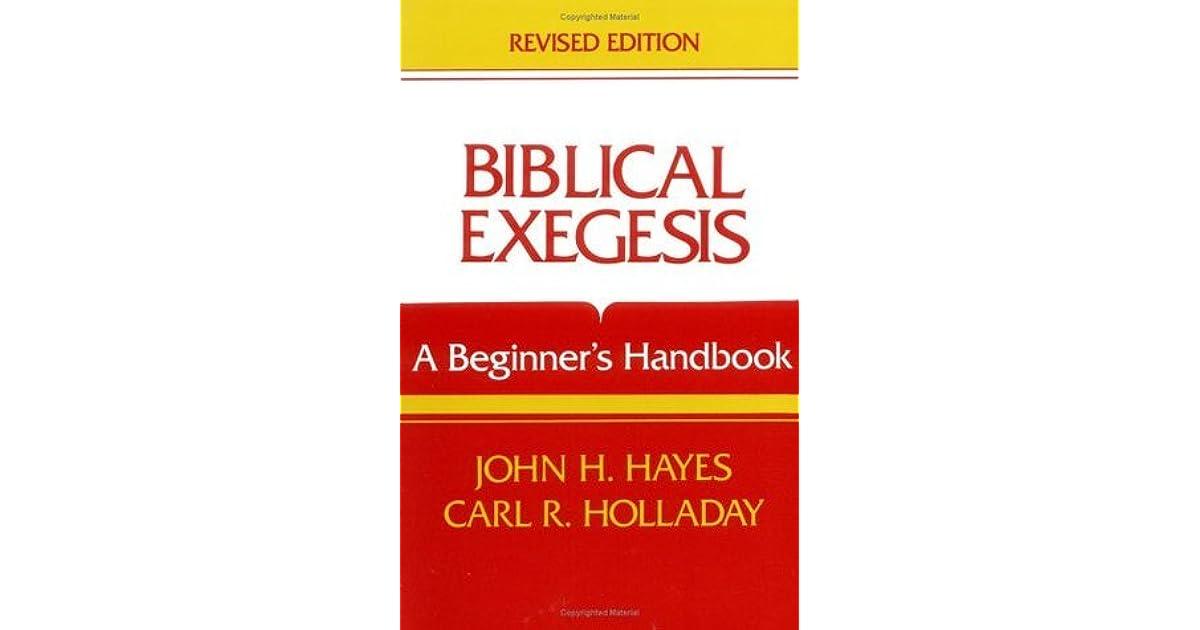 Biblical Exegesis