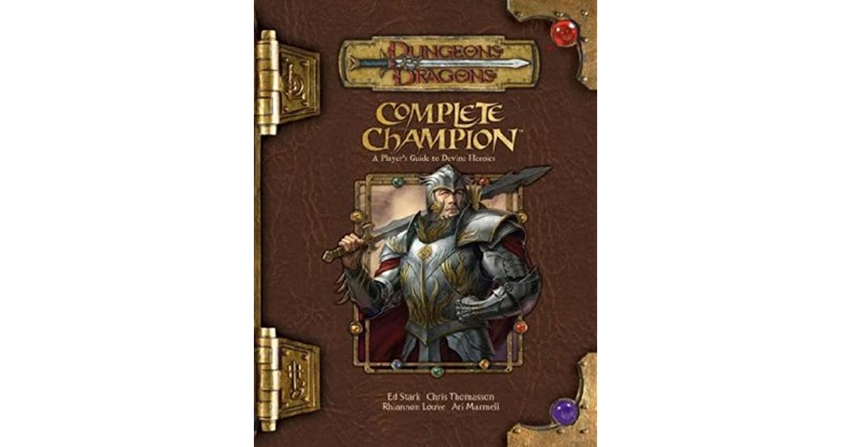 Complete Champion By Ed Stark
