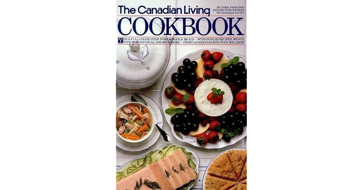 Canadian living cookbook by carol ferguson forumfinder Images