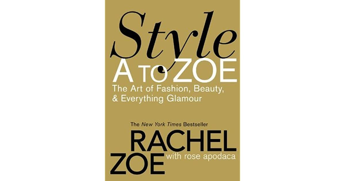 91928522caf3 Style A to Zoe  The Art of Fashion
