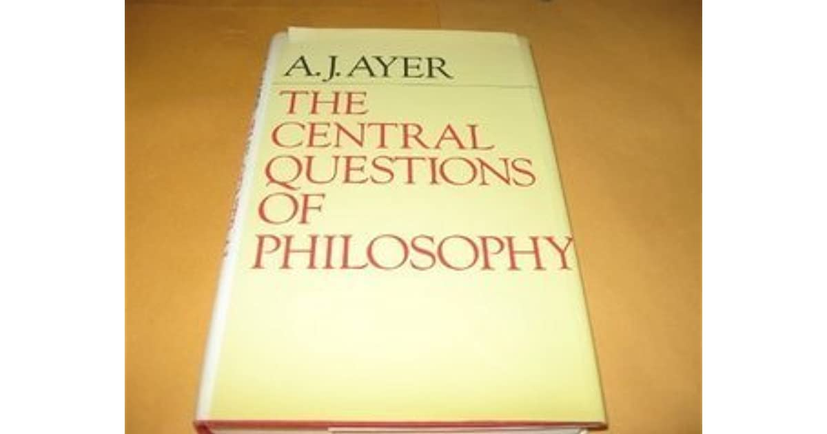 philosophy ayer Database of free philosophy essays - we have thousands of free essays across a wide range of subject areas sample philosophy essays.