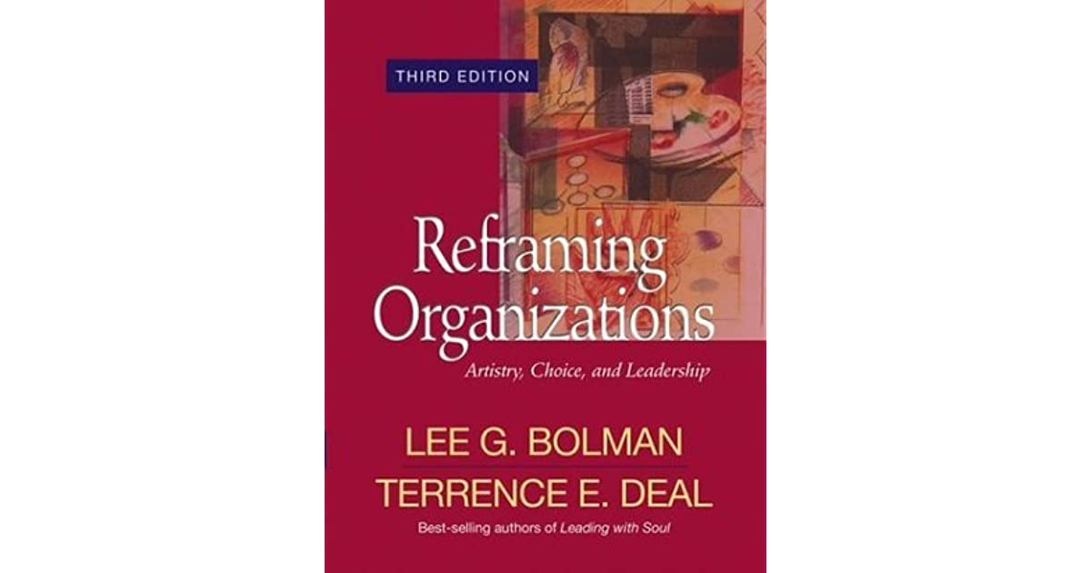 improving leadership practice bolman and deal