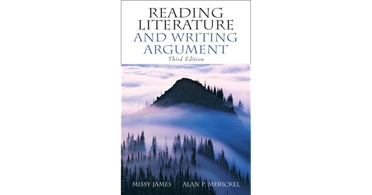 reading literature and writing argument Reading- lite -読解練習.