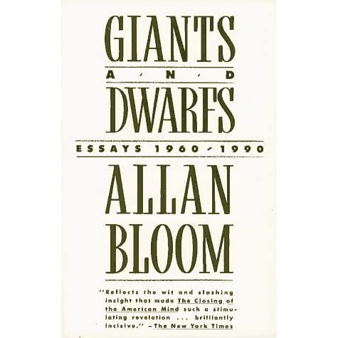 allan bloom the closing of the american mind essay Sunday book review | essay allan bloom and the conservative mind for the wildfire success of allan bloom's closing of the american mind.