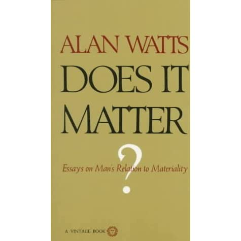 alan watts essays and lectures The official podcast of alan watts the essential lectures the entire podcast series: 48 lectures, 21 hours of audio.