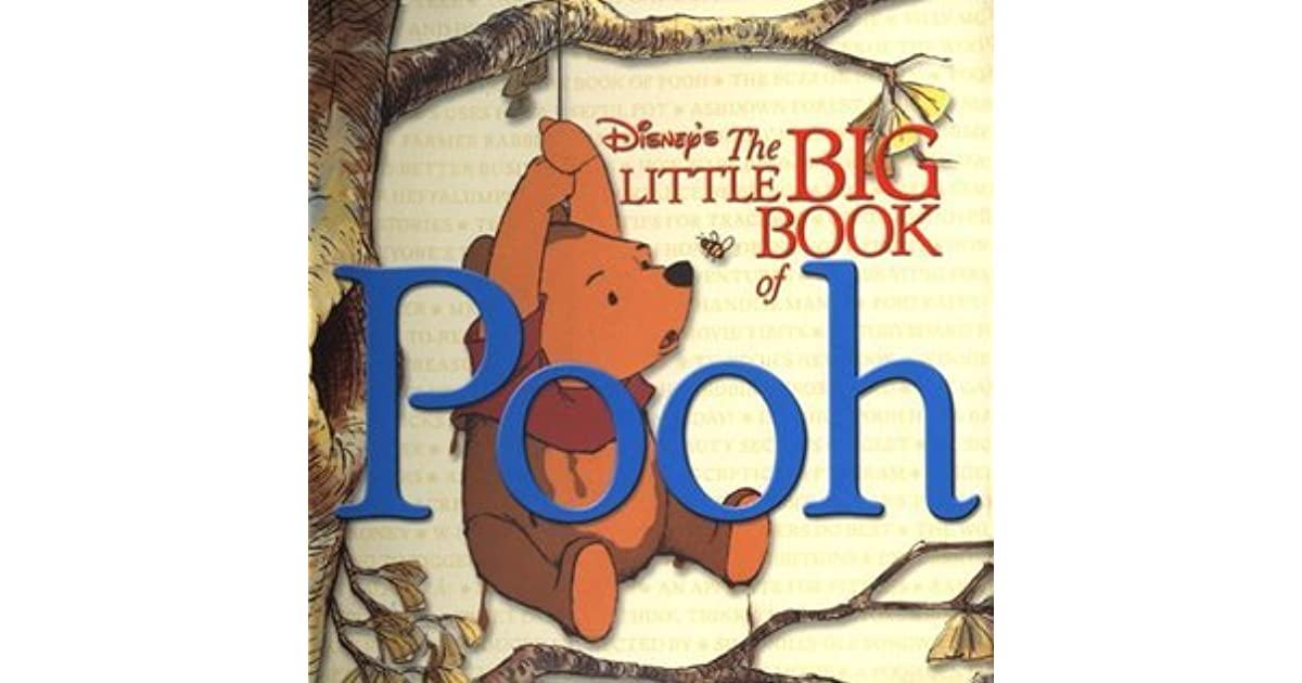 the little big book of pooh welcome book