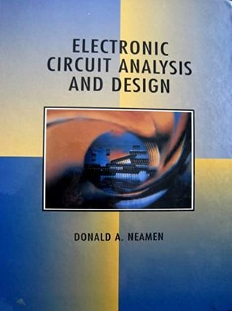 electronic circuit analysis and design by donald a neamen