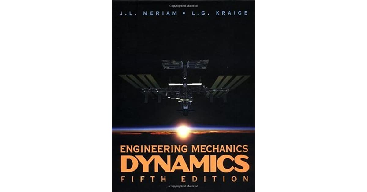 Pdf engineering mechanics dynamics