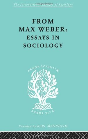 Weber max essay in sociology bureaucracy 1946 english a1 extended essay titles
