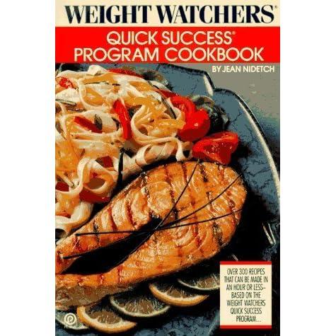 Weight Watchers Quick Success Program Cookbook By Jean Nidetch