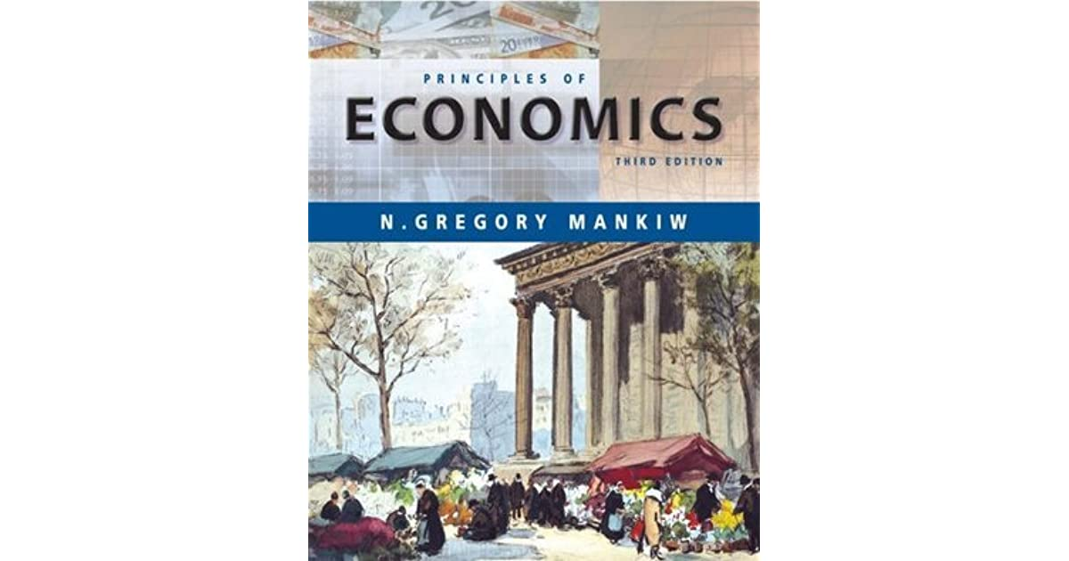 Mankiw Principles Of Economics Book